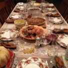 Happy Thanksgiving Table