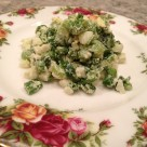 Mom's green onion salad